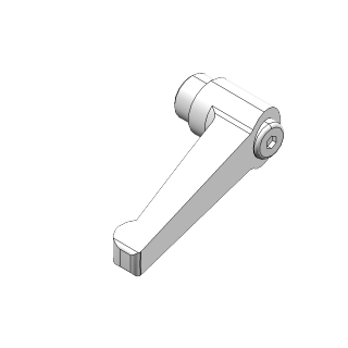 M10 x 1.50 Tap Kipp KHX-45 Zinc Ball Knob Adjustable Handle 80mm Long
