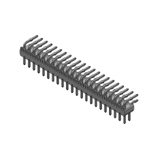 DW-08-16-T-D-225 DW-08-16-T-D-225 16 Contacts DW Series Board-To-Board Connector Pack of 20 2 Rows Through Hole 2.54 mm Header